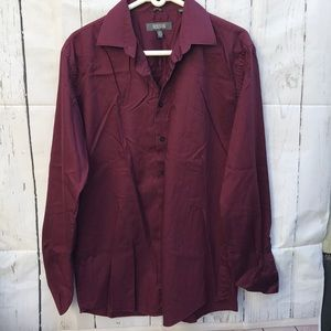 Kenneth Cole Reaction Button Down shirt size Large